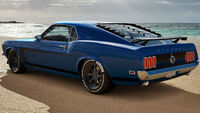 FH3 Mustang 69 HE Rear
