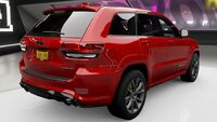 FH4 Jeep GC Trackhawk Rear