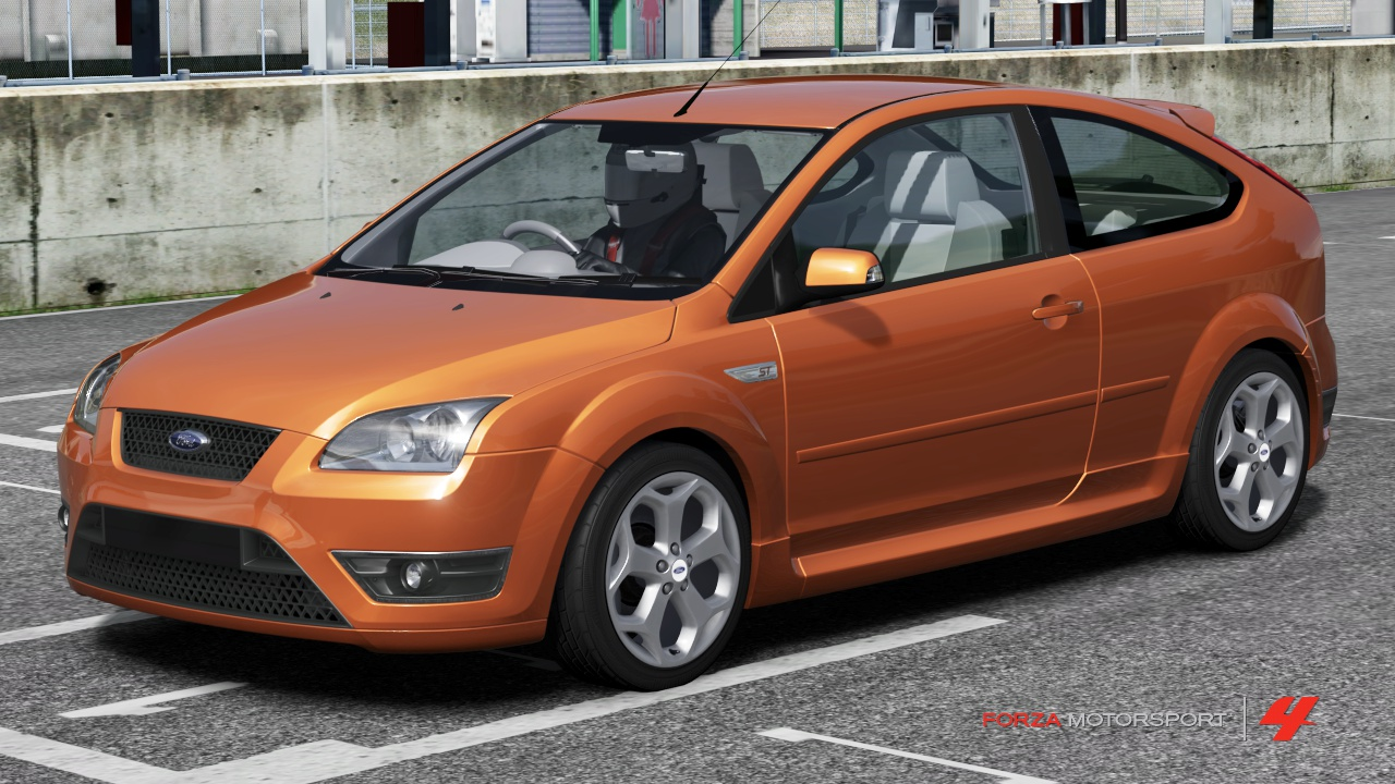Ford Focus ST In Forza Motorsport 4