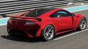 FM7 Acura NSX 16 FE Rear