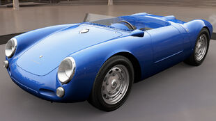 The 1955 Porsche 550 Spyder in Forza Horizon 3