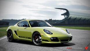Porsche Cayman R in Forza Motorsport 4