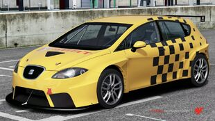 SEAT Leon Supercup in Forza Motorsport 4