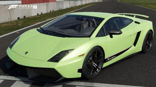 The 2011 Lamborghini Gallardo LP 570-4 Superleggera in Forza Motorsport 7