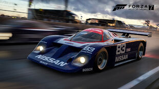 Nissan #83 Electramotive Engineering GTP ZX in Forza Motorsport 7