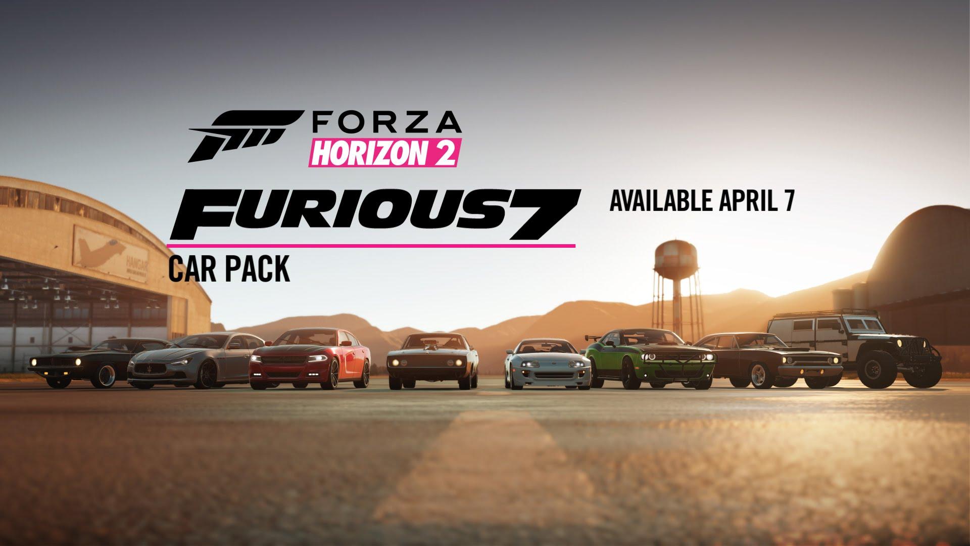 Furious 7 Car Pack Icon Infobox Game Forza Horizon 2