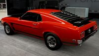 FM6A Ford Mustang-1969-Rear