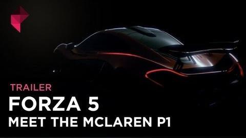 Forza Motorsport 5 - Meet The McLaren P1