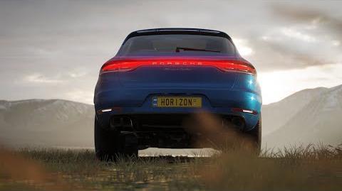 Video - The new Porsche Macan Turbo Debut in Forza Horizon 4
