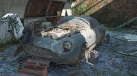 FH4 Aston Martin DB4 GT Zagato Barn Find