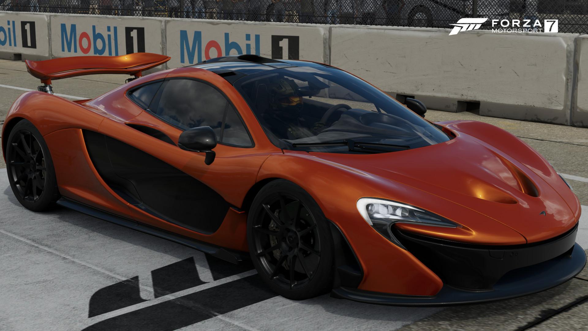 The 2013 McLaren P1 In Forza Motorsport 7