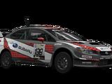 Subaru WRX STI VT15R Rally Car