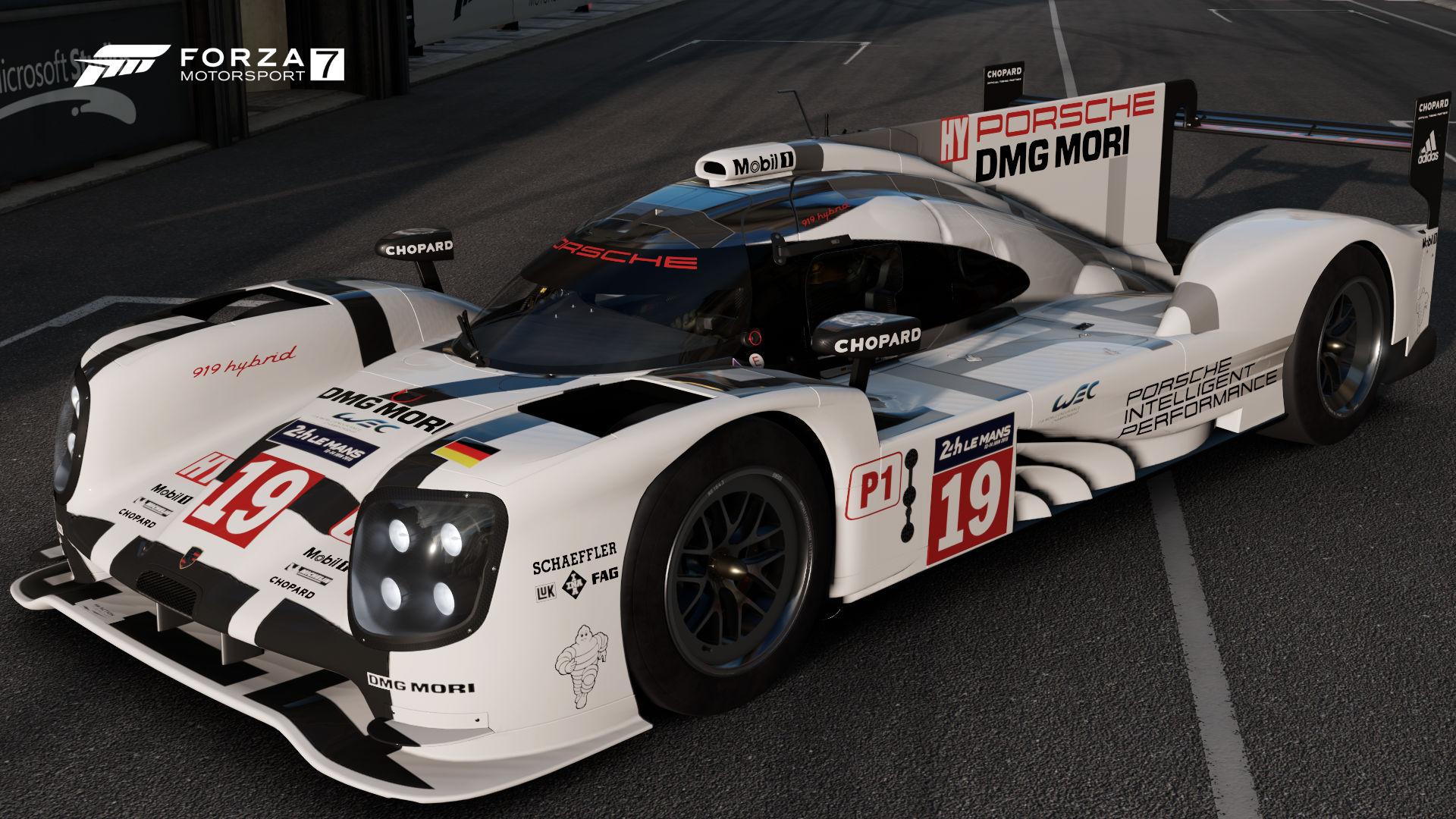 Porsche 19 Team 919 Hybrid