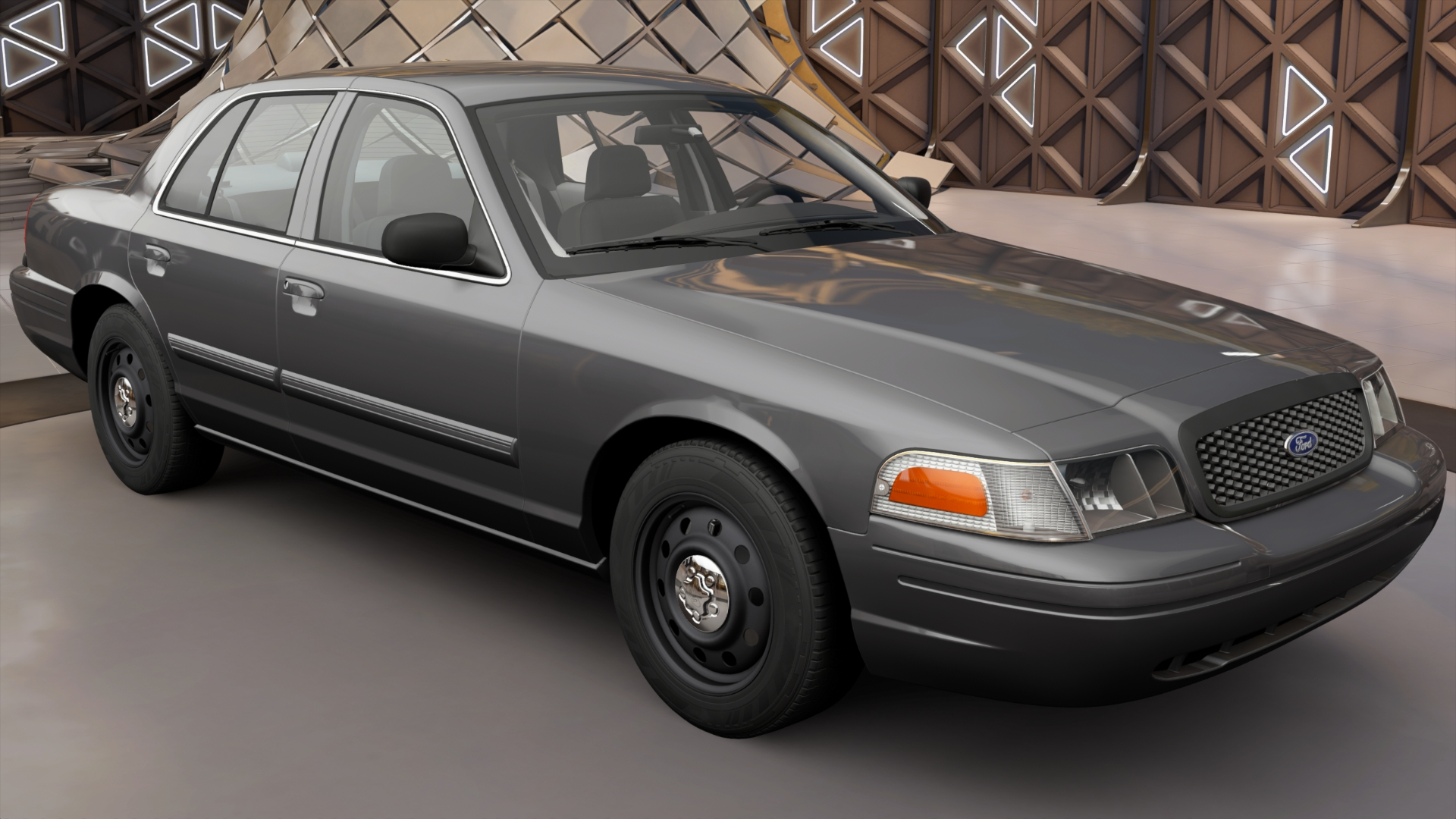 ford crown victoria police interceptor forza motorsport. Black Bedroom Furniture Sets. Home Design Ideas