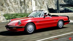 1986 Alfa Romeo Spider Quadrifoglio Verde in Forza Motorsport 4