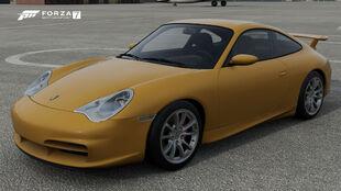 The 2004 Porsche 911 GT3 in Forza Motorsport 7