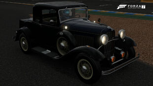 The 1932 Ford De Luxe Five-Window Coupe in Forza Motorsport 7