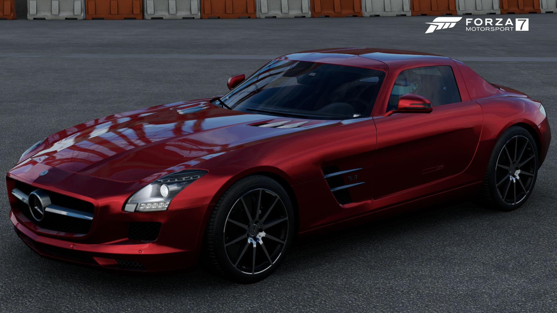 Captivating Mercedes Benz SLS AMG