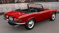 FH3 Honda S800 Rear