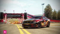 FH Ford Mustang 12 PizzaHut