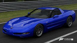 2002 Chevrolet Corvette Z06 in Forza Motorsport 7