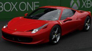 The 2009 Ferrari 458 Italia in Forza Motorsport 7