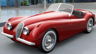 1954 Jaguar XK 120 SE in Forza Horizon 3