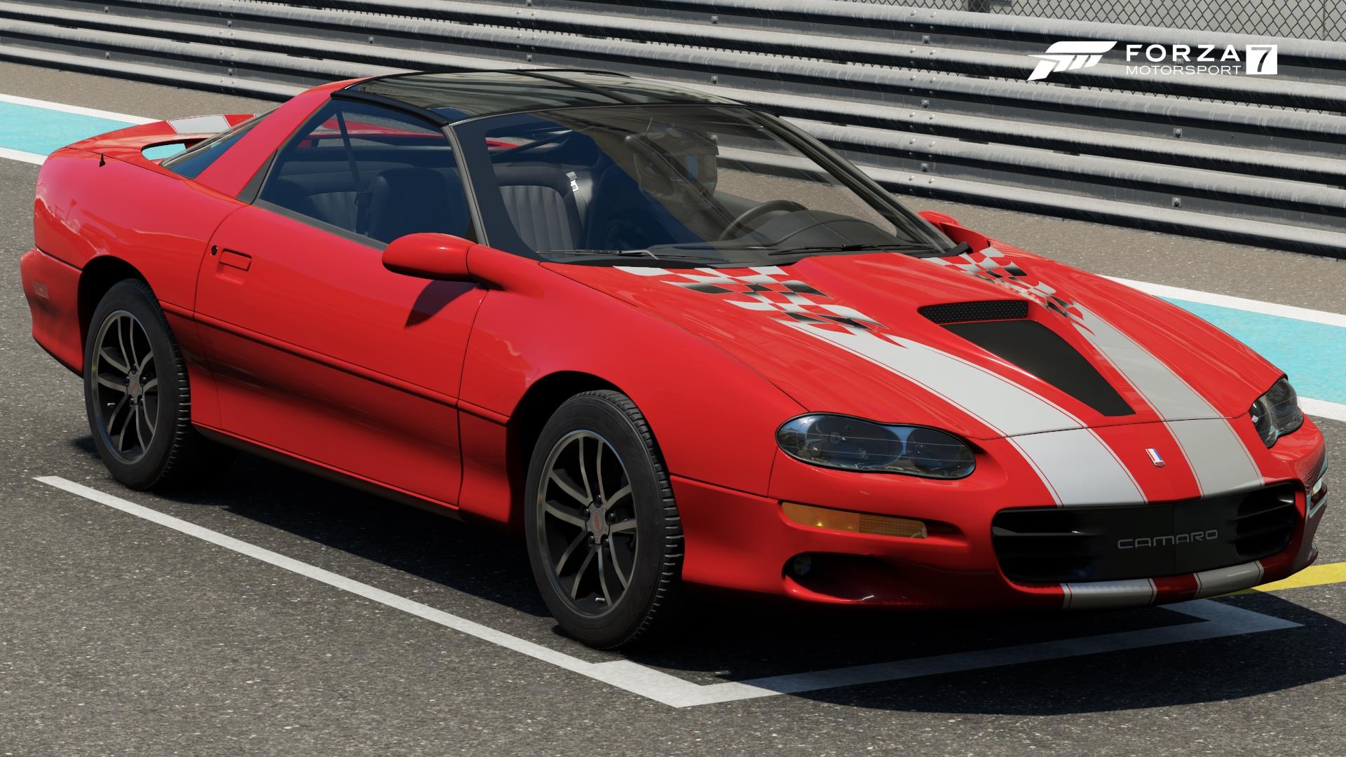 Chevrolet Camaro 35th Anniversary Super Sport In Forza Motorsport 7