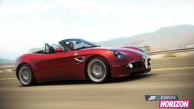 FH Alfa 8C Spider Promo