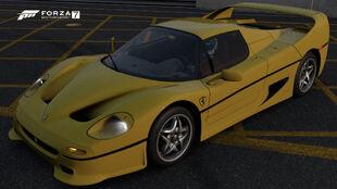 The 1995 Ferrari F50 in Forza Motorsport 7