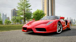 The Ferrari Enzo Ferrari in Forza Horizon 3