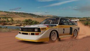 <ol><li>2 Audi Sport quattro S1 in Forza Horizon 3</li></ol>
