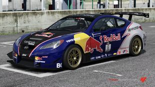 Hyundai Rhys Millen Racing Genesis Coupe in Forza Motorsport 4