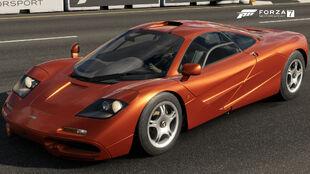 The 1993 McLaren F1 in Forza Motorsport 7