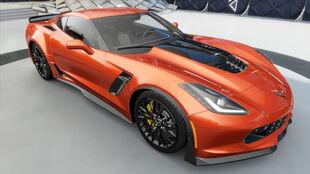 The Chevrolet Corvette Z06 (C7) in Forza Horizon 3