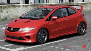 Honda Mugen Civic Type-R 3D in Forza Motorsport 4