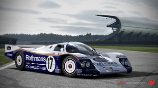 Porsche 962c in Forza Motorsport 4