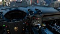 FM7 Porsche 718 Cayman GT4 Clubsport Dashboard