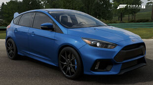 The 2017 Ford Focus RS in Forza Motorsport 7