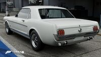 FM7 Ford Mustang 65 Rear