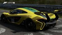 FM7 McLaren P1 GTR Rear