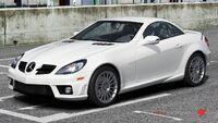FM4 Mercedes SLK55
