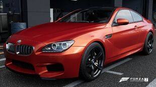 2013 BMW M6 Coupe in Forza Motorsport 7