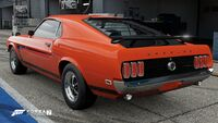 FM7 Ford Mustang 69 Rear