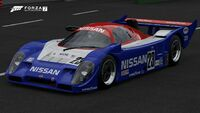 FM7 Nissan 23 R91CP Front