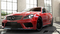 FM5 Mercedes C63AMG BlackSeries