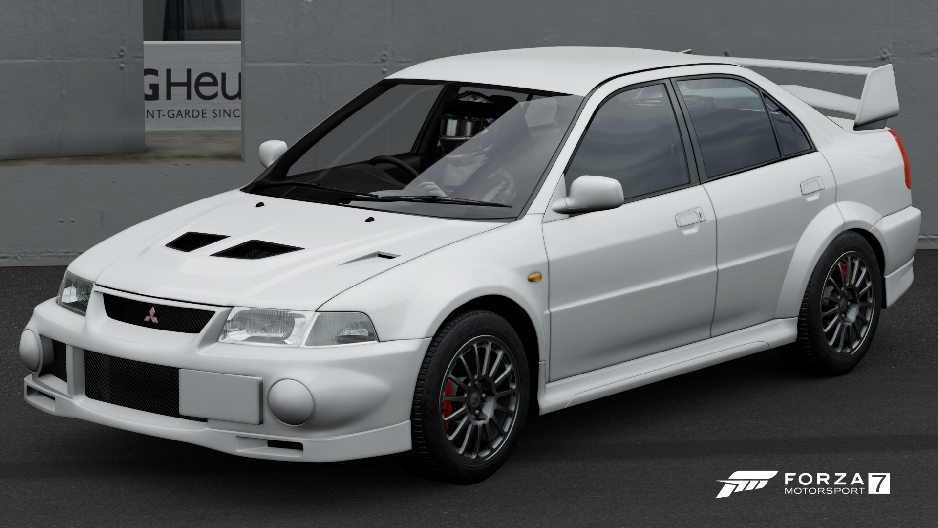 Mitsubishi Lancer Evolution VI GSR