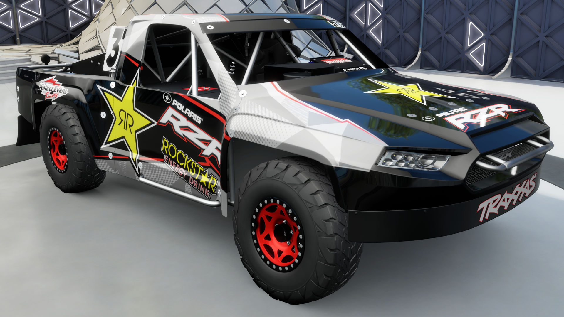 RJ Anderson #37 Polaris RZR-Rockstar Energy Pro 2 Truck | Forza