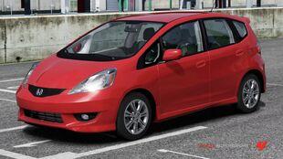 Honda Fit Sport in Forza Motorsport 4