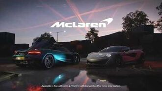 Forza Horizon 4 McLaren Series 14 Trailer Promotional